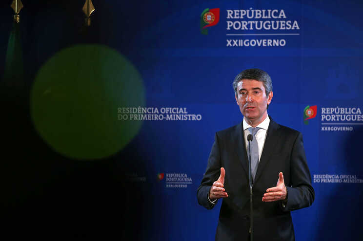 O secretário-adjunto do PS, José Luís Carneiro