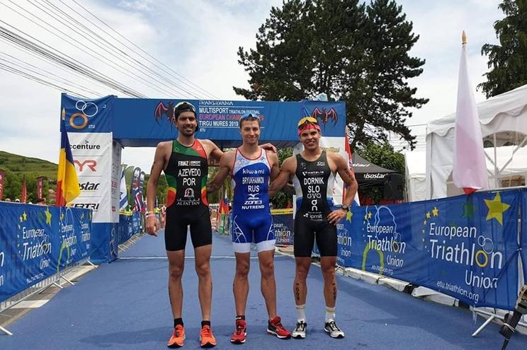 Filipe Azevedo sagra-se vice-campeão europeu de triatlo de média distância