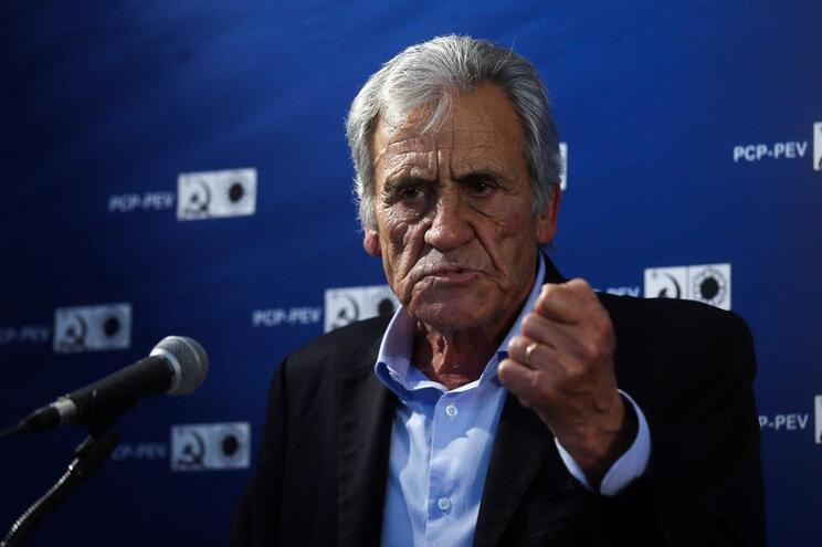 Jerónimo de Sousa diz que chantagem do PS mostrou até onde está disposto a ir