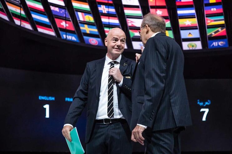 Infantino reeleito presidente da FIFA por aclamação