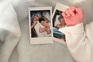 Atriz divulgou foto que assinala o nascimento do filho