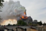 Os vídeos da catedral de Notre-Dame  em chamas
