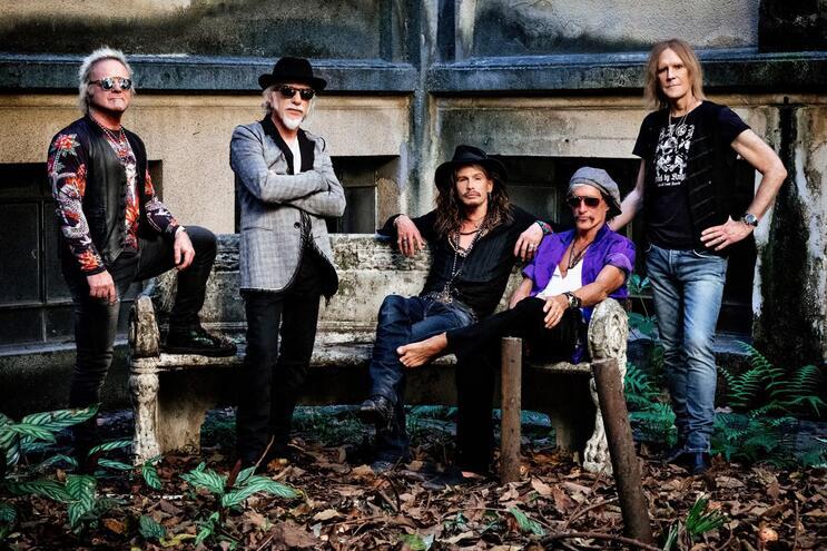 Digressão europeia dos Aerosmith passa em Portugal