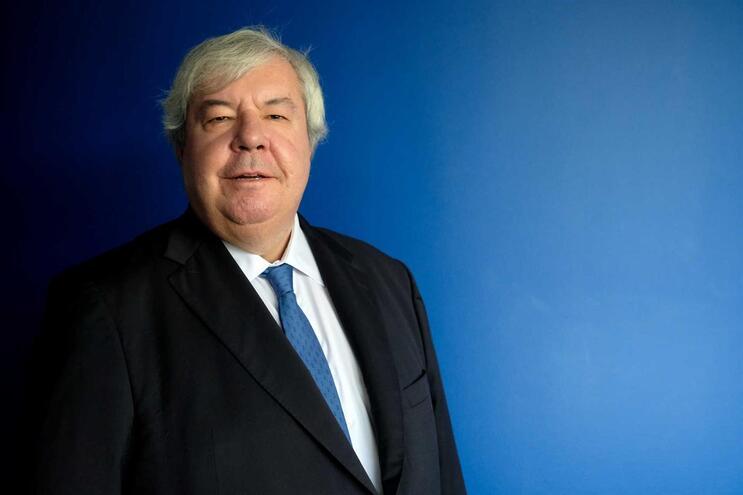O bastonário da Ordem dos Advogados eleito,Luís Menezes Leitão