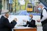 O Presidente da República, Marcelo Rebelo de Sousa, almoça num retaurante em Lisboa com o chefe da Casa