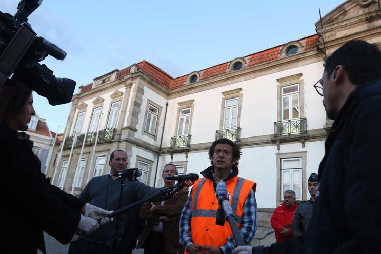 Ovarl, 17/03/2020 - O Presidente da Câmara Municipal de Ovar reuniu esta tarde com todas as entidades