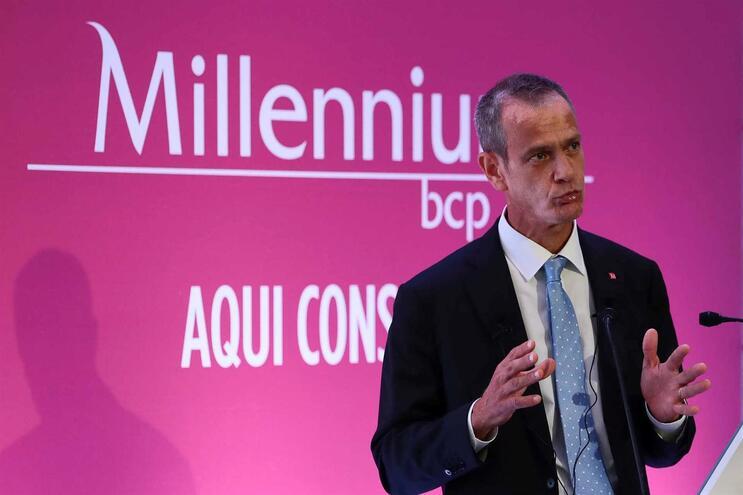Miguel Maya, presidente executivo do Millennium BCP
