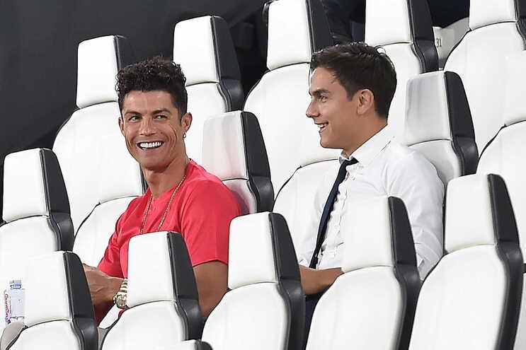Cristiano Ronaldo e Paulo Dybala