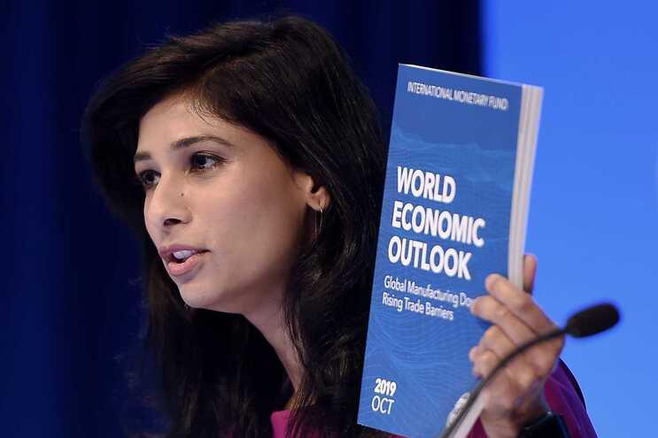 Gita Gopinath, economista chefe do FMI e diretora do departamento de investigação