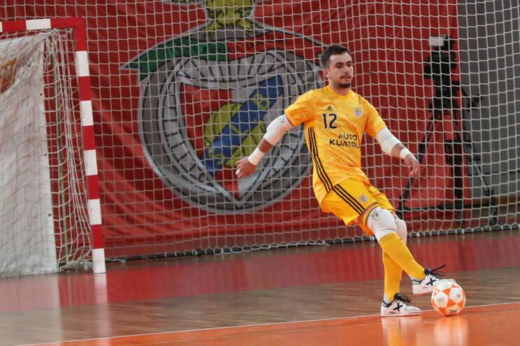 Martim Figueira fará parte do plantel principal da equipa de futsal do Benfica