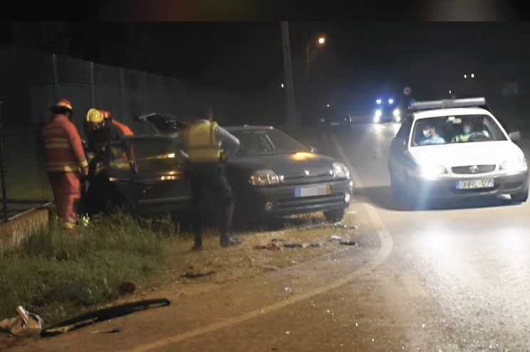 Vítima mortal viajava num Renault Clio