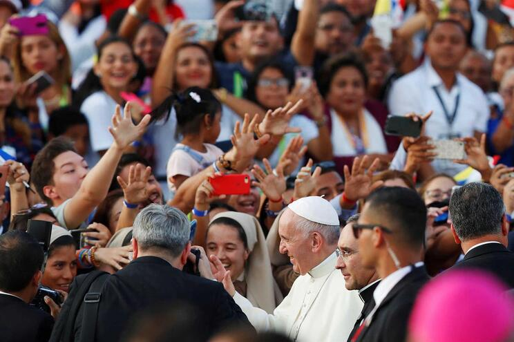 Papa Francisco na Jornada Mundial da Juventude no Panamá