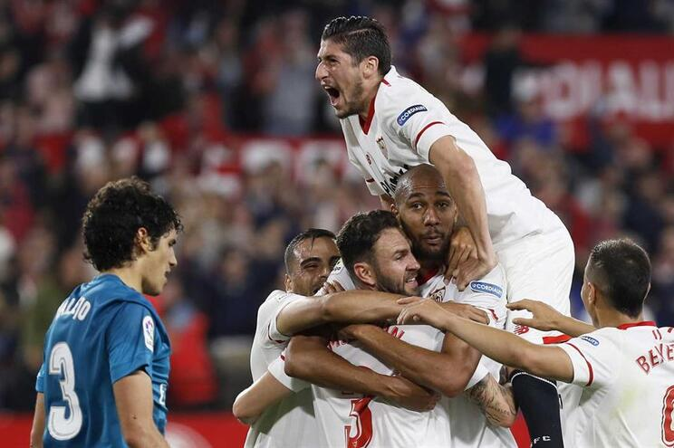 Sevilha venceu Real Madrid por 3-1