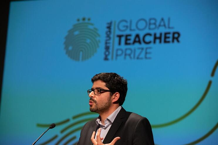 Afonso Mendonça Reis é presidente do júri do Global Teacher Award  (Sara Matos / Global Imagens)