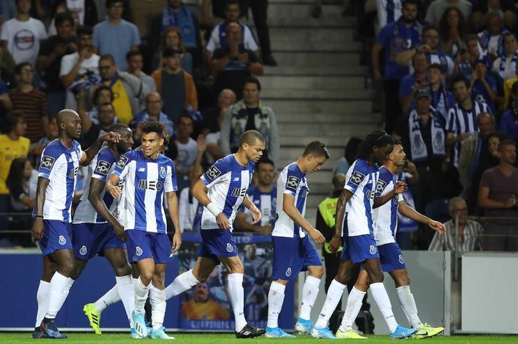 O onze do F. C. Porto para o jogo com o Vitória de Guimarães