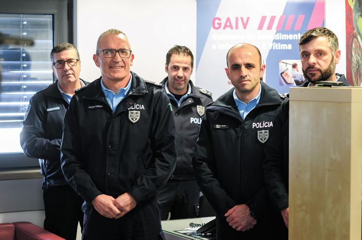Carlos Vilela, Fernando Rodrigues, António Silva, Marco Sousa e Luís Costa integram equipa de 17 agentes