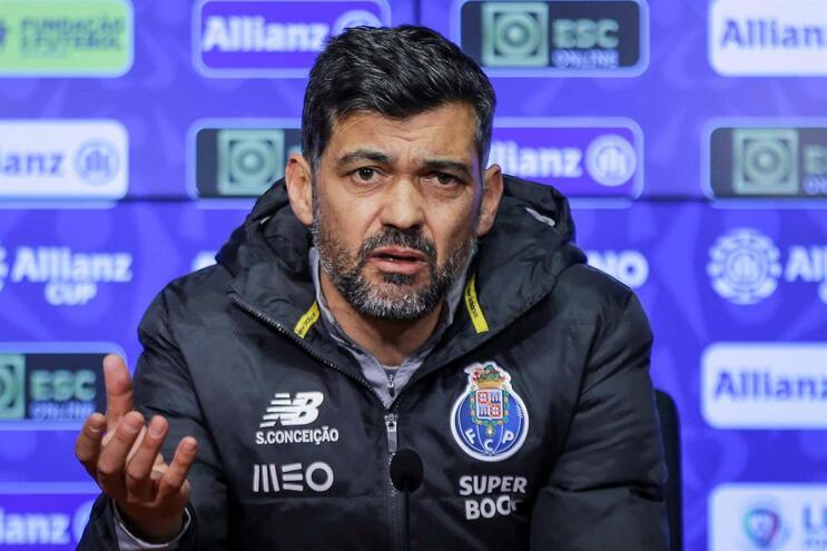 Sérgio Conceição na antevisão do jogo da Taça da Liga