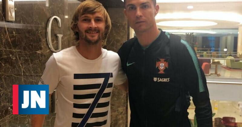 Jogador do Boavista esperou 14 horas para conhecer Cristiano Ronaldo