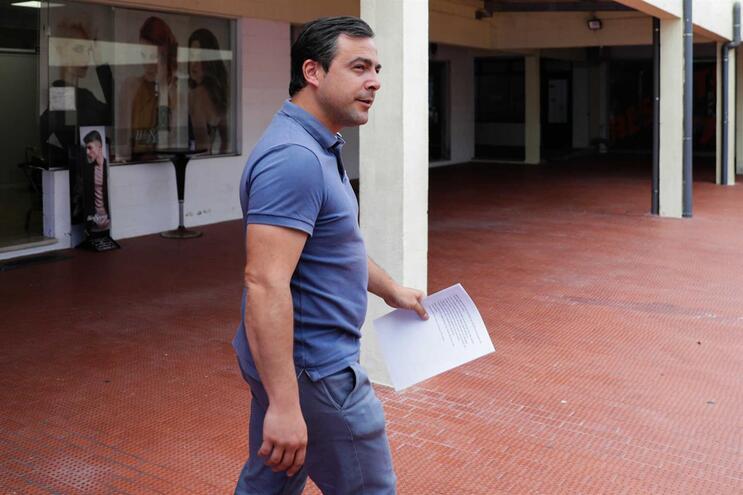 O presidente do Sindicato Nacional de Motoristas de Matérias Perigosas (SNMMP), Francisco São Bento