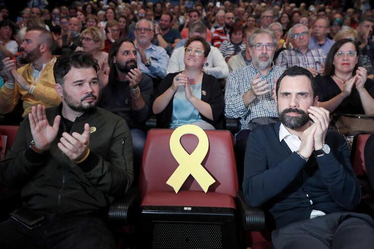 ERC vence na região da Catalunha