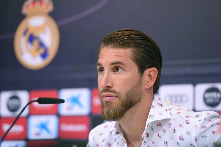 Sergio Ramos garante que quer terminar a carreira no Real Madrid