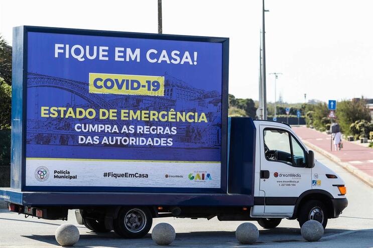 Estado de emergência vigora desde 19 de março