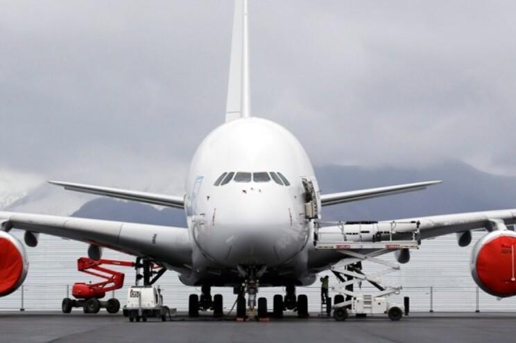 Alerta de fissuras nas asas dos primeiros modelos do Airbus A380