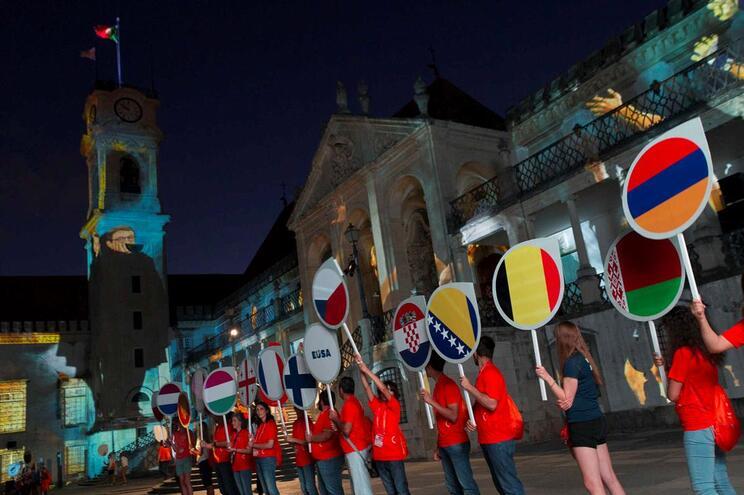 Jogos Europeus Universitários 2018 em Coimbra entre 15 e 28 de julho