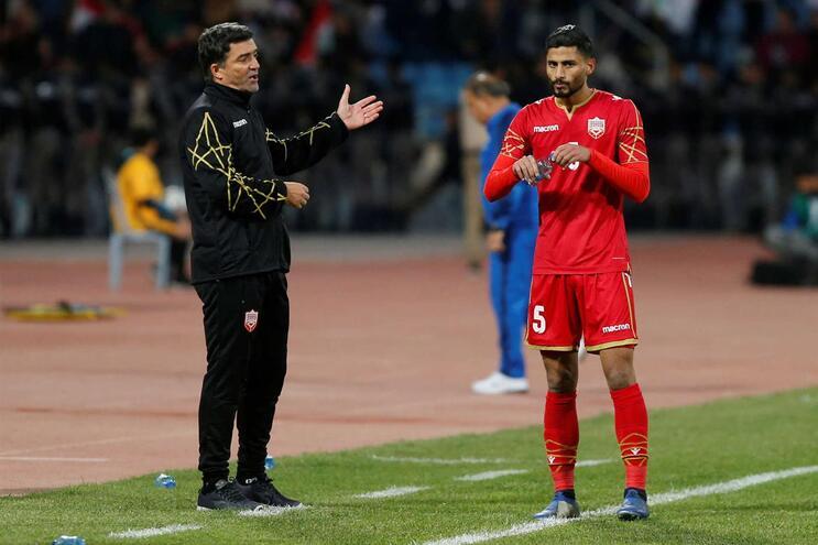 Português Hélio Sousa é selecionador do Bahrain