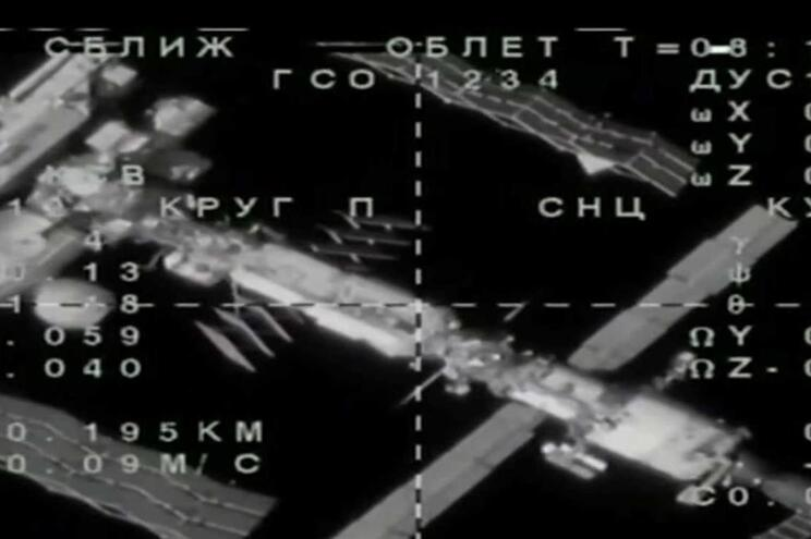 Acoplagem da sonda russa à EEI falhou