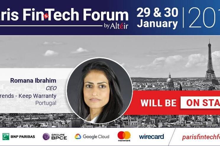 Portuguesa Romana Ibrahim vai participar no Paris Fin & Tech Forum