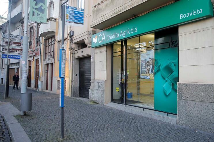 Arquivo: Crédito Agrícola da Rotunda Boavista/Porto