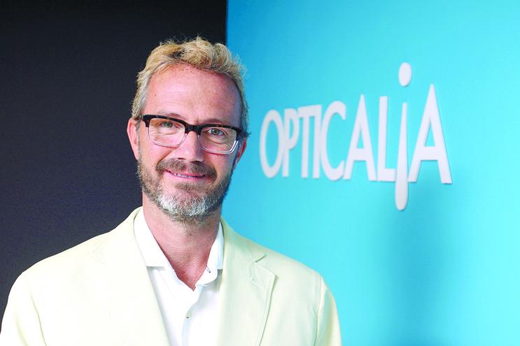 António Alves, diretor-geral da Opticalia em Portugal