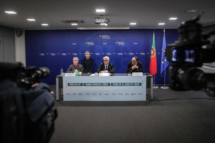 A conferência de imprensa da DGS desta quinta-feira