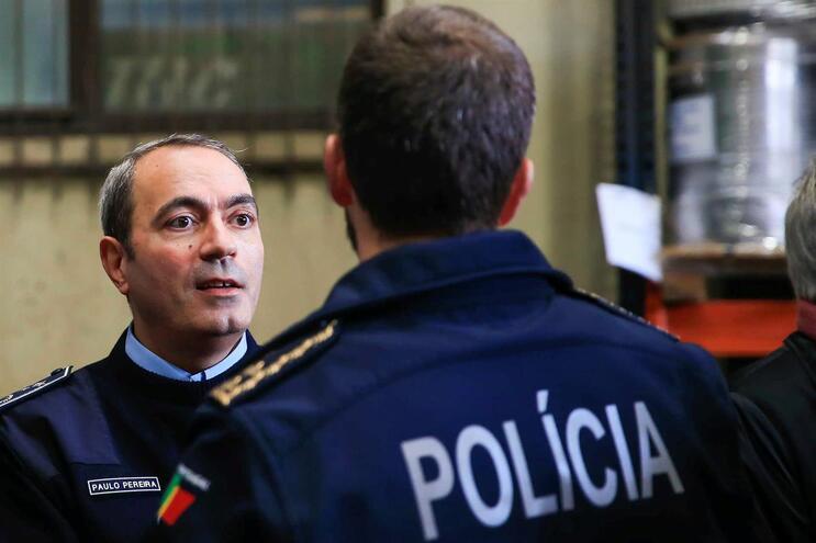 Superintendente Paulo Pereira tomou posse como comandante do Comando Metropolitano de Lisboa da PSP