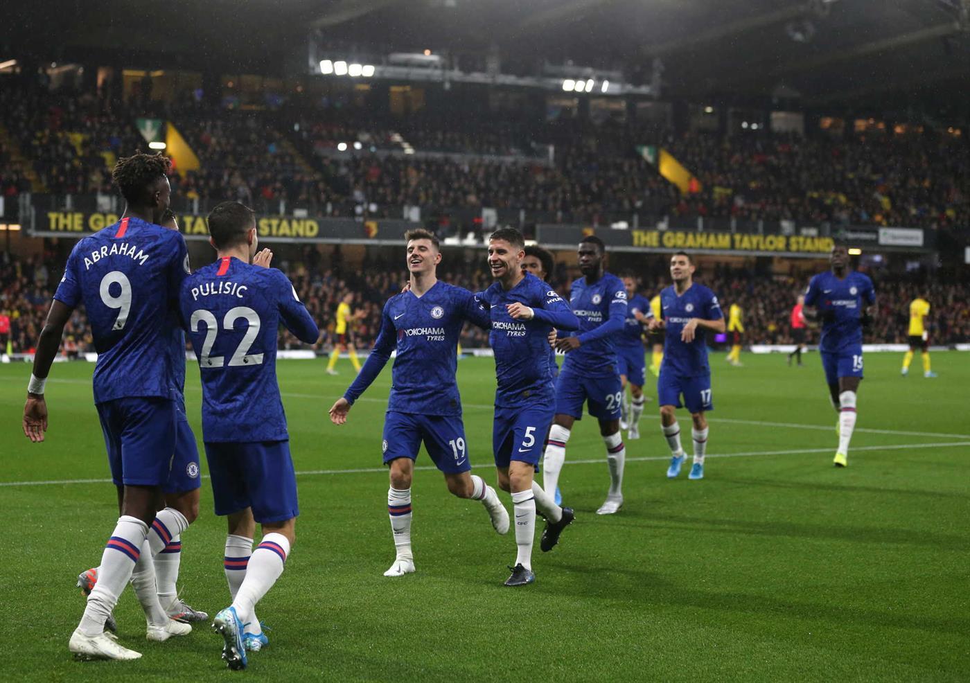 """Os """"Blues"""" derrotaram o Southampton, o Newcastle e o Burnley no mês de outubro"""