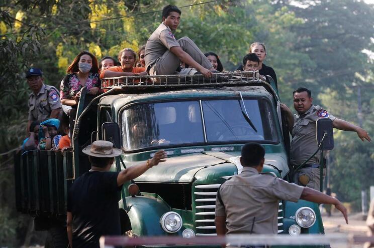 Prisioneiros libertados em abril, por ocasião da amnistia do Ano Novo budista