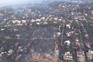 As imagens aéreas do rasto de destruição deixado pelas chamas na Grécia