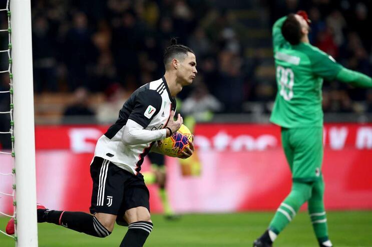 Ronaldo marcou pelo oitavo jogo consecutivo