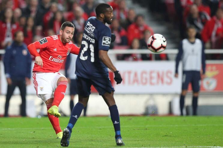 Zivkovic em estreia pelo Benfica esta época