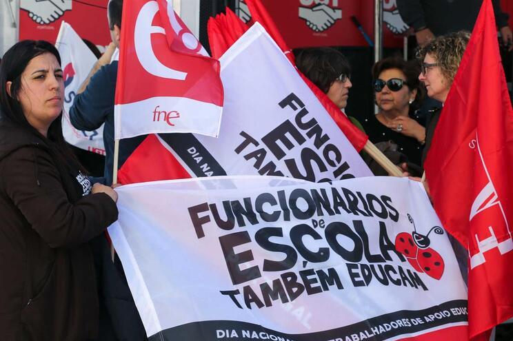 Dia de greve da função pública