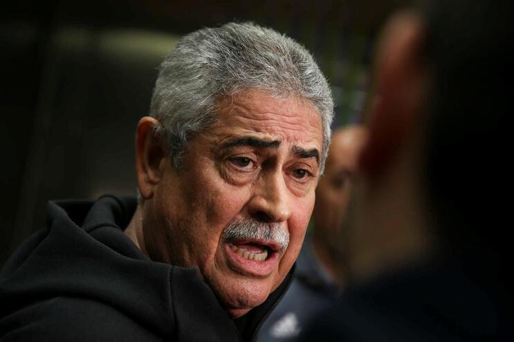 Luís Filipe Vieira criticou o ambiente à volta do futebol português