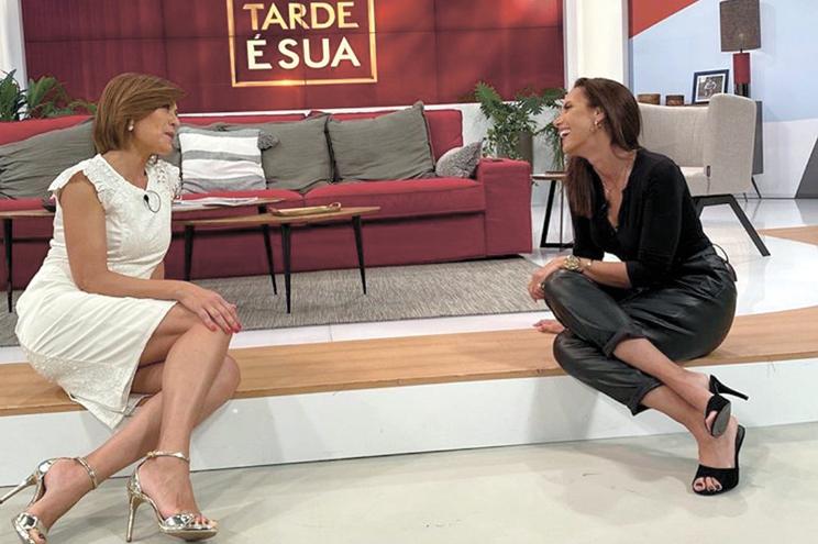 """Foram """"três anos"""" para fazer o luto, como contou a Fátima Lopes, no """"A tarde é sua"""", na TVI."""