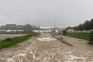 Chuva intensa provocou várias inundações no concelho de Olhão
