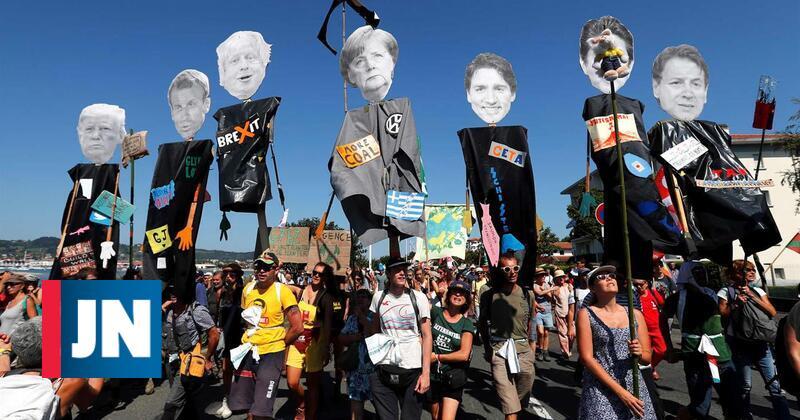 Amazónia, o fogo que eclipsa a crispação do G7