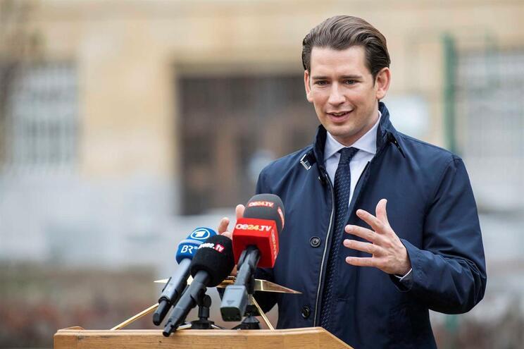 Chanceler austríaco, Sebastian Kurz