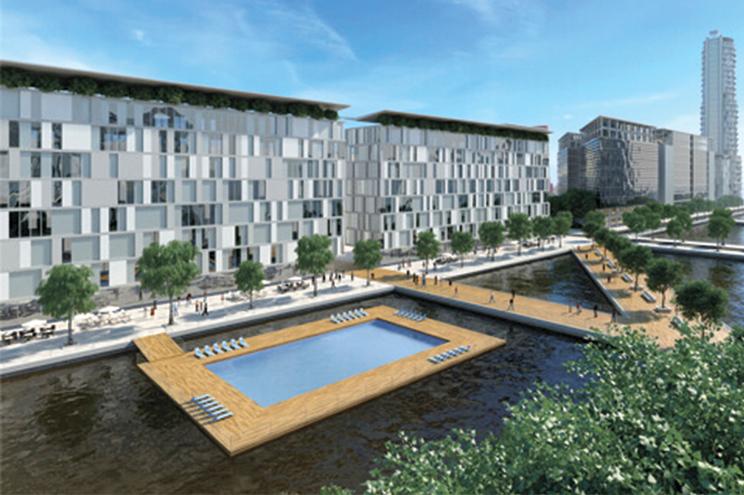 Os terrenos da antiga Lisnave vão dar lugar à Cidade da Água