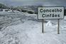 Neve obriga ao corte da estrada entre Castro Daire e Cinfães