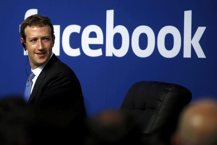CEO do Facebook Mark Zuckerberg