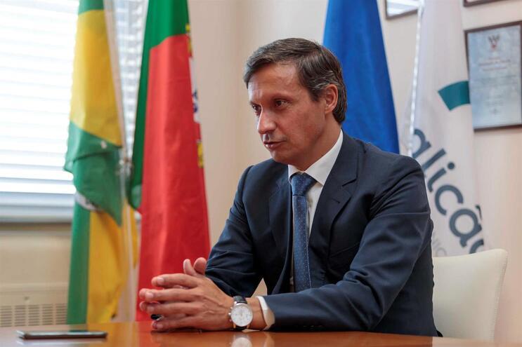 Presidente da Câmara Municipal de Famalicão, Paulo Cunha
